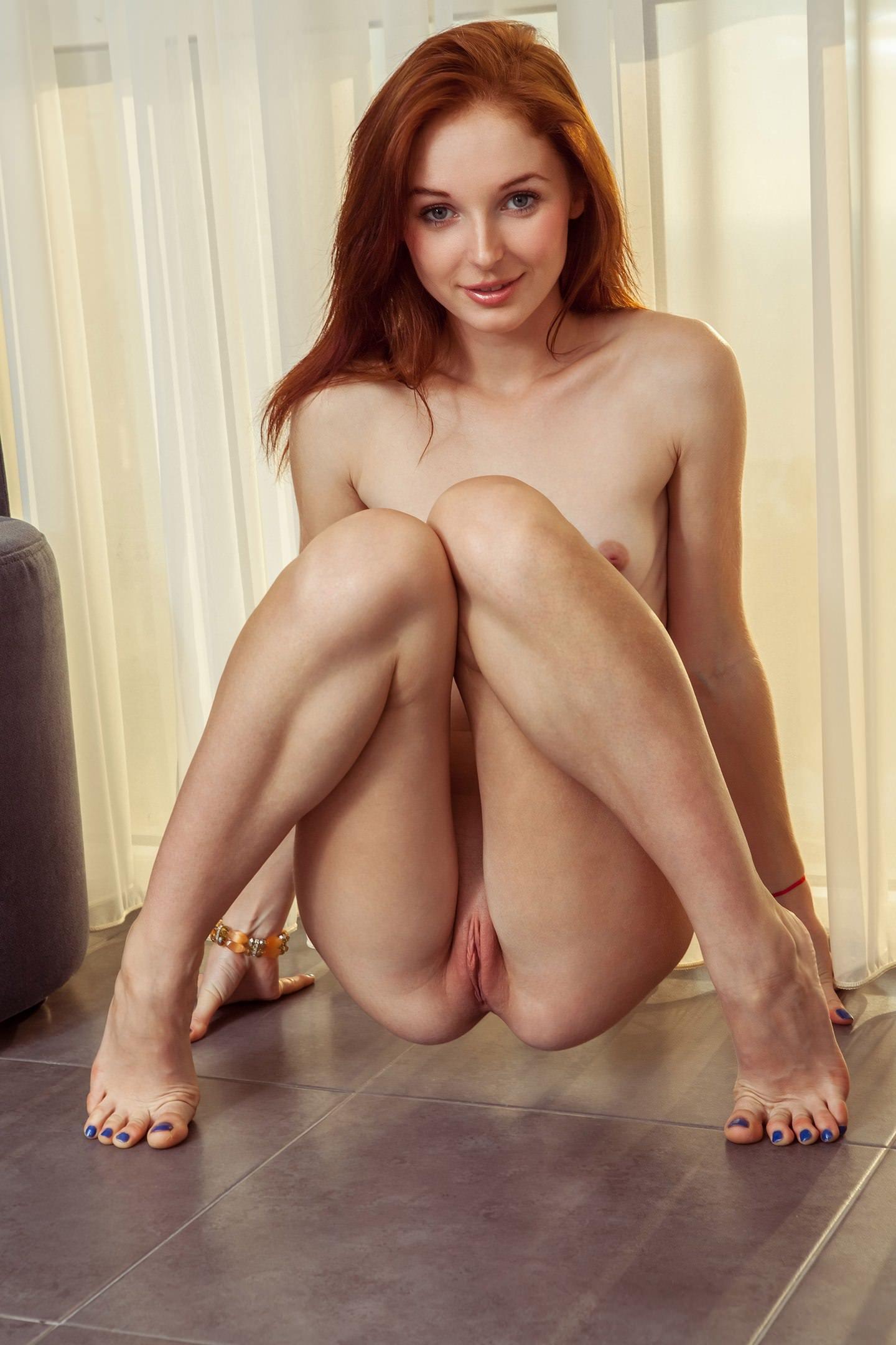 Pussy red hair Redhead