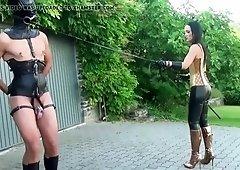Play femdom pony mistress riding